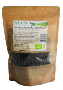 Naturvida Arandano Rojo Con Sirope De Manzana Bio 250g