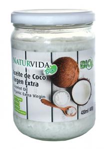 Naturvida Aceite De Coco Virgen Extra Bio 400g 430ml
