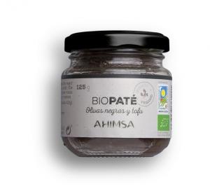 Ahimsa Pate Oliva Negra Tofu Bio Ld 125g