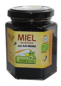 Green Mancha Miel Con Ajo Negro 240g