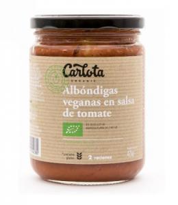 Carlota Organic Albondigas En Salsa De Tomate 425g