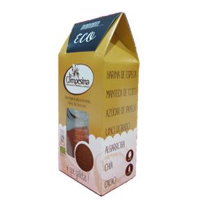 La Campesina Galletas De Espelta Lino Dorado Algarroba Chia Cacao 115g Saciante