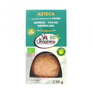 La Campesina Galletas Azteca Bio 120g
