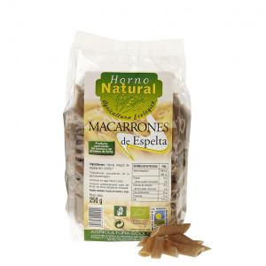 Horno Natural Macarrones Bio Int Espelta 250g