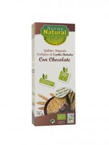Horno Natural Galleta Bio Int Espelta Chocolate 100g