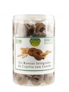 Horno Natural Cilindro Rosco Bio Espelta Canela 55 Pack X 2u