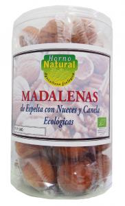 Horno Natural Cilindro Magdalenas Bio Espelta Nuez Canela 16 Pack X 2u