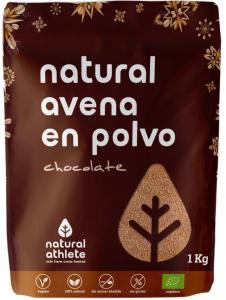 Natural Athlete Natural Avena En Polvo Chocolate Bio 1 Kg