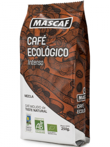 Mascaf Bio Café Intenso Molido 250g