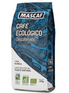 Mascaf Bio Café Descafeinado Molido 250g