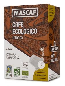 Mascaf Bio Café Cápsula Intenso 50g