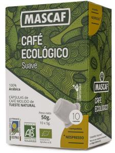 Mascaf Bio Café Cápsula Suave 50g