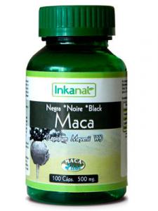 Inkanat Maca Negra 100 Caps 500mg
