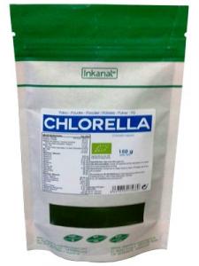 Inkanat Chlorella Bio Polvo Bolsa 150g