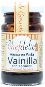 Chefdelice Vainilla Aroma En Pasta Emul 50g