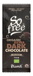 Plamil So Free Chocolate Al Cacao Intenso 87 Bio Vegano 80g