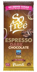 Plamil So Free Chocolate Expreso Intenso 72 80g Sin Azucar