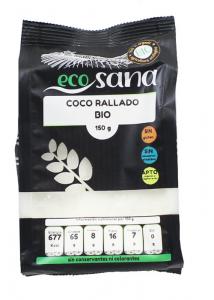 Coco Rallado Fino Bio 150g Ecosana