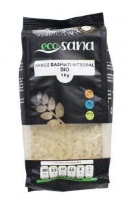 Arroz Basmati Integral Bio 1kg Ecosana