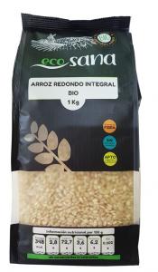 Arroz Redondo Integral Bio 1kg Ecosana