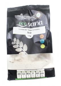 Harina Trigo Integral Bio 1kg Ecosana