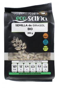 Semilla Girasol Bio 250g Ecosana