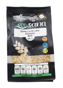 Semilla Lino Dorado Bio 250g Ecosana