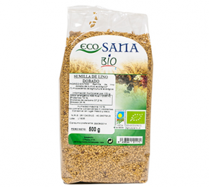Semilla Lino Dorado Bio 500g Ecosana