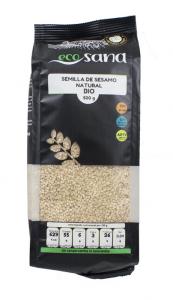 Sesamo Natural 500g Bio Ecosana