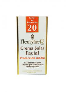 Fleurymer Crema Solar Facial Spf 20 Tubo 80ml