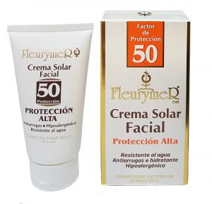 Fleurymer Crema Solar Facial Spf 50 Tubo 80ml