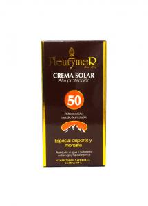 Fleurymer Crema Solar Facial 'montaña' Spf 50 Tubo 80ml