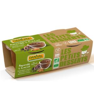 Danival Natillas De Almendra Con Chocolate Bio Ab 2x 110g