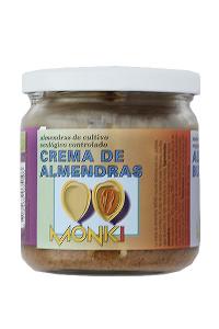 Crema De Almendras Bio Monki 330g
