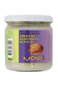 Crema De Almendras Blancas Bio Monki 330g