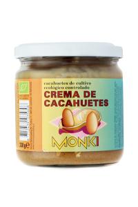 Crema De Cacahuete Bio Monki 330g