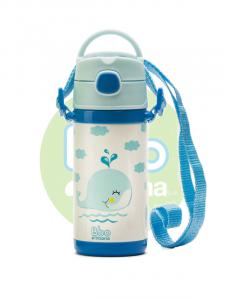 Botella Bbo Termo Infantil 320ml Azul Irisana