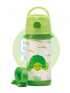 Botella Bbo Termo Infantil 320ml Verde Irisana