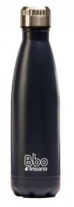 Botella Bbo Termo Acero Inoxidable 350ml Azul y Funda Irisana