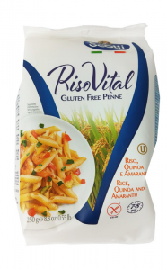 Riso Scotti Scotti Macarrones Arroz Quinoa y Amaranto Sin Gluten 250g