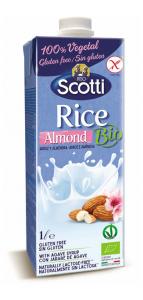 Riso Scotti Scotti Bebida Bio Arroz y Almendra 1l