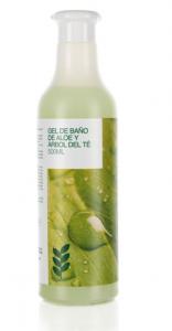 Botánica Nutrients Gel Baño Aloe Vera y Arbol Del Te 500ml