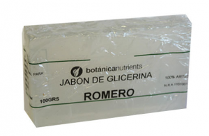 Botánica Nutrients Jabon Aromatico Romero 100g