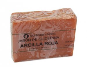 Botánica Nutrients Jabon Tratamiento Arcilla Roja 100g