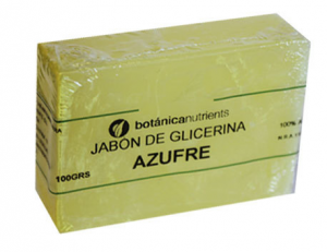 Botánica Nutrients Jabon Tratamiento Azufre 100g