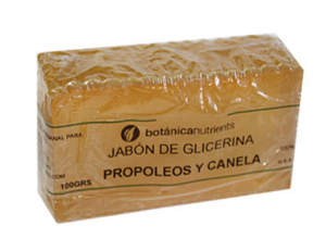 Botánica Nutrients Jabon Tratamiento Propoleo y Canela 100g