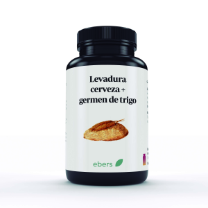 Ebers Levadura y Germen T 600 Mg 100 Comp