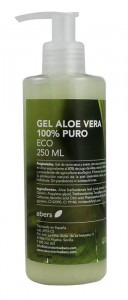 Ebers Gel Aloe Vera 100 Puro Eco 250ml Dosif