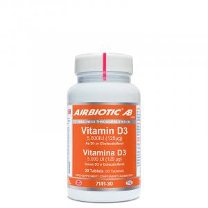 Airbiotic Ab Vitamina D3 Ab 5000 Ui 30 Tabs
