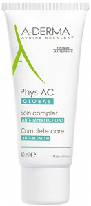 A-DERMA PHYS-AC GLOBAL TRATTAMENTO ANTI-IMPERFEZIONI 40ML